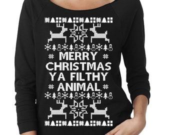 more colors merry christmas ya filthy animal