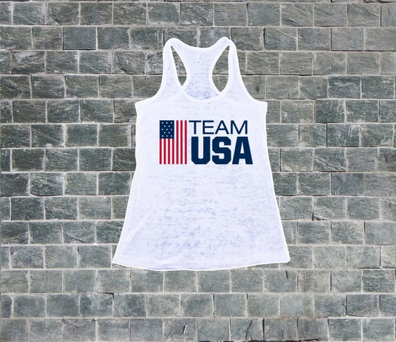 Team USA. Burnout Tank Top. Women s Workout Tank. Olympics  1cad57db56