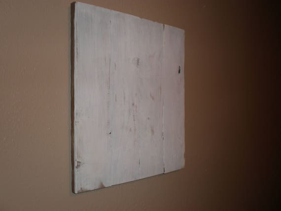 distressed white pallet wood canvas blank pallet sign diy etsy