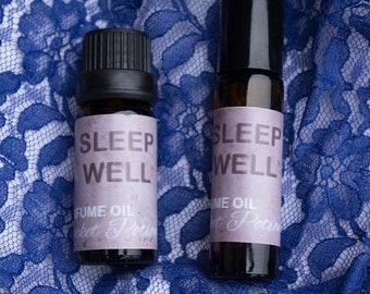 Perfume oil Sleep Well geek chic vegan perfume aromatherapy sleep rest indie light white flowers for women horror SCP Foundation