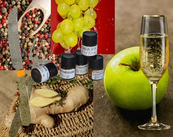 Cannibal's Banquet geek chic vegan perfume oil unisex spicy smoky fruity apple champagne pepper nutmeg ginger clove horror creepy SCP