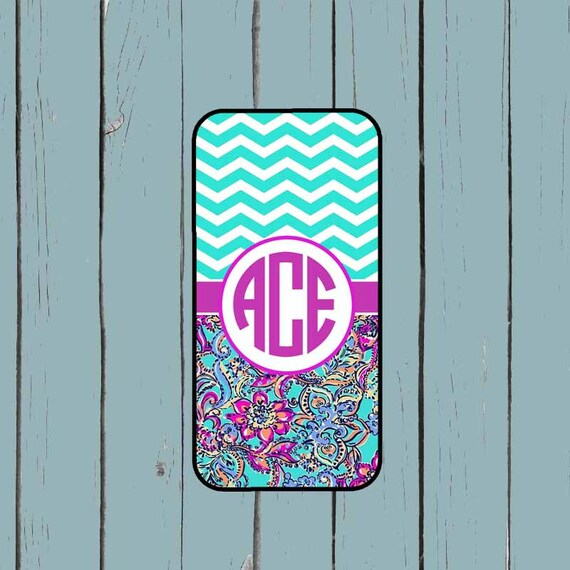reputable site f9f6b e7be0 Galaxy S7 Case Galaxy Note 4 Case Lilly Pulitzer Inspired Monogram Note 5  case Galaxy S6 Case iPhone 6 plus case Personalized iPhone SE Case