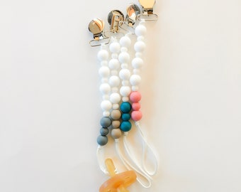Bubble Clip - Silicone Pacifier Clip (pacifier Not included)