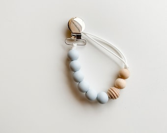 Willow Clip - Icy Blue