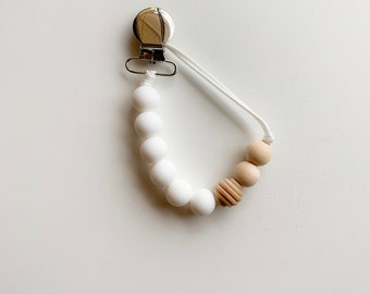 Willow Clip - Winter White