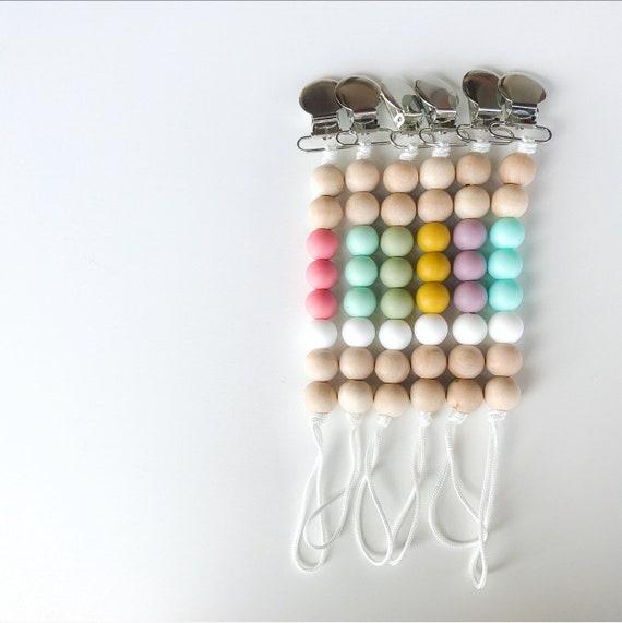 Symphony Clip - NomiLu SILICONE Clip - Spring into Color