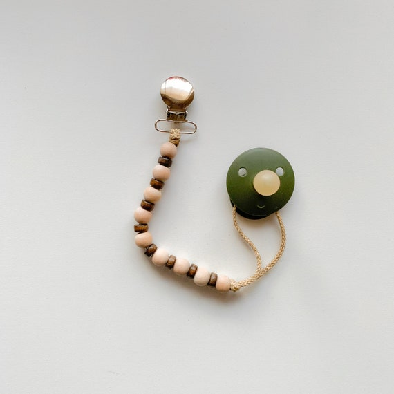 Finn Clip -- Dual Toned Clip (Ring & Pacifier not included)
