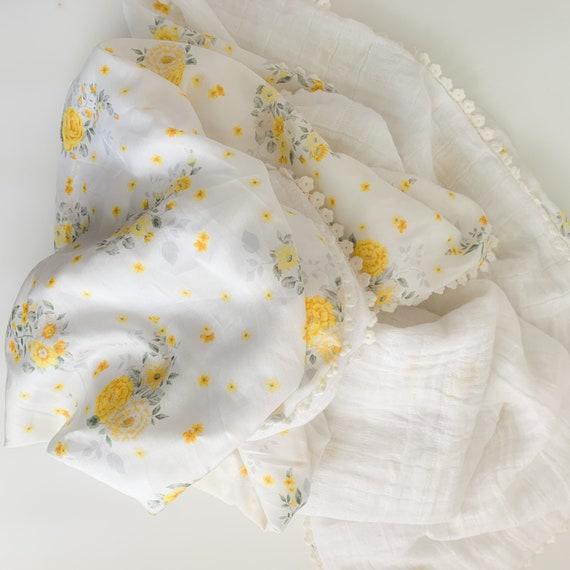 Summer Flowers Silky Blanket