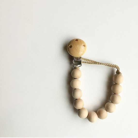 NomiLu Classic Clip on Wooden Clasp
