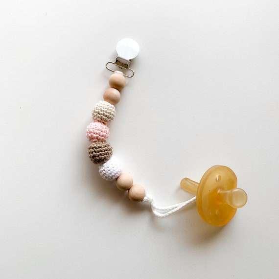 Neapolitan Clip -- Pacifier NOT included