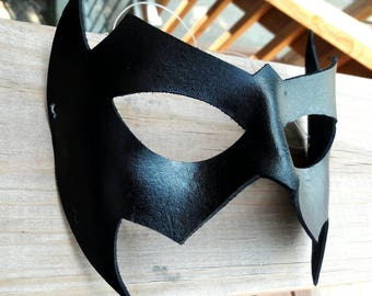 Leather Nightwing Inspired Cosplay Halloween Mask