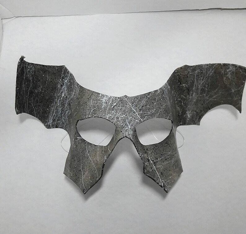 Leather Winged Gargoyle Mask
