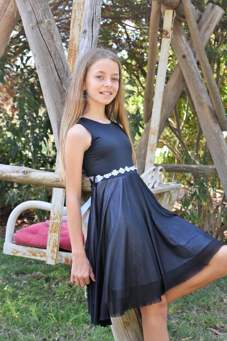Sommeretsy 0on8pwk Mädchen Für Kleid Schwarz Weiß Und ikZXPu