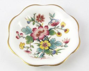Coalport Ming Rose Trinket Dish