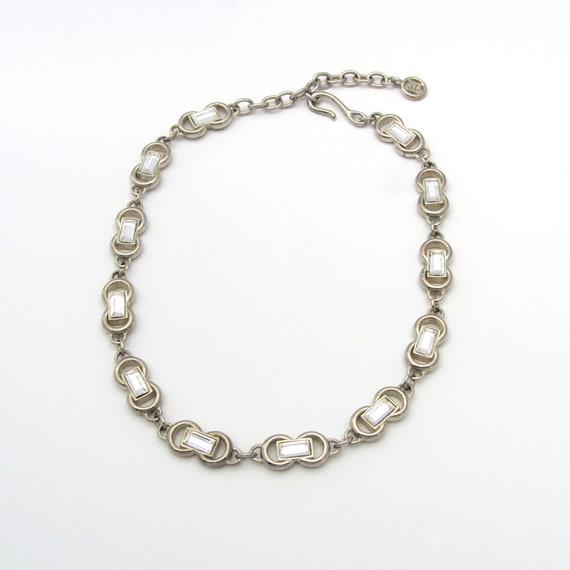 Givenchy Rhinestone Choker | Designer Necklace | G