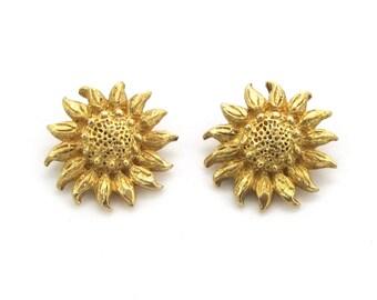 Sunflower Earrings   MJ Enterprises