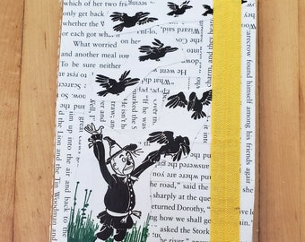 Wizard of Oz Journal, Book Page Journal, L. Frank Baum, Blank Page Journal, Lined Journal, Journaling, Ready to Ship, Book Nook, MarjorieMae