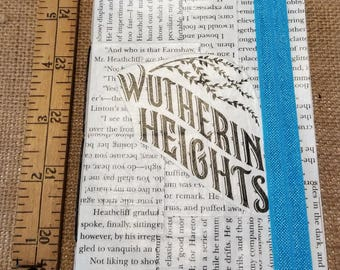 Wuthering Heights Journal, Book Page Journal, Blank Page Journal, Book Journal, One of a Kind, Acutal Book Pages, Emily Brontë, MarjorieMae