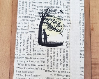 To Kill A Mockingbird Journal, Book Page Journal, Harper Lee, Blank Page Journal, Lined, Journaling, Ready to Ship, Book Nook, MarjorieMae