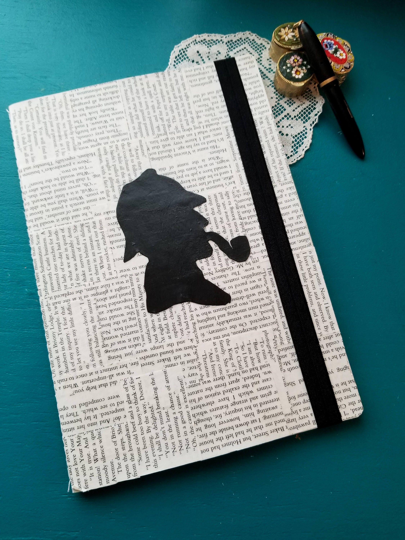 THREE Bookish quote prints Arthur Conan Doyle Sherlock Holmes