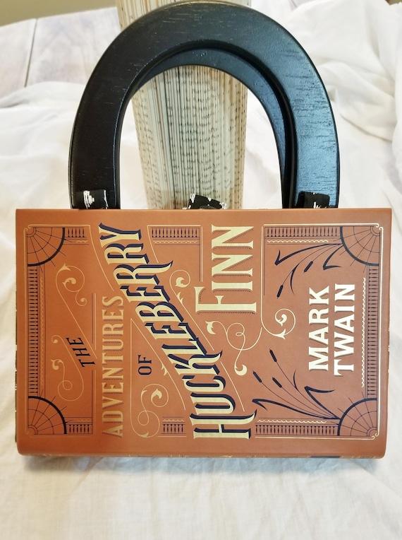 Sherlock Holmes Book Purse Faux Leather Book Purse Book Nook MarjorieMae Ready to Ship Special Occasion Purse Unique Formal Purse