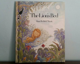 The Lion's Bed by Diane Redfield Massie, vintage children's book