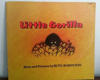 Little Gorilla by Ruth Bornstein, vintage children's book