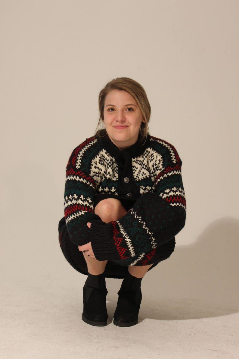 Vintage Sweater Christmas Sweater Medium Sweater Cardigan Vintage Cardigan Holiday Sweater Womens Sweater Large Sweater Oversized Sweater