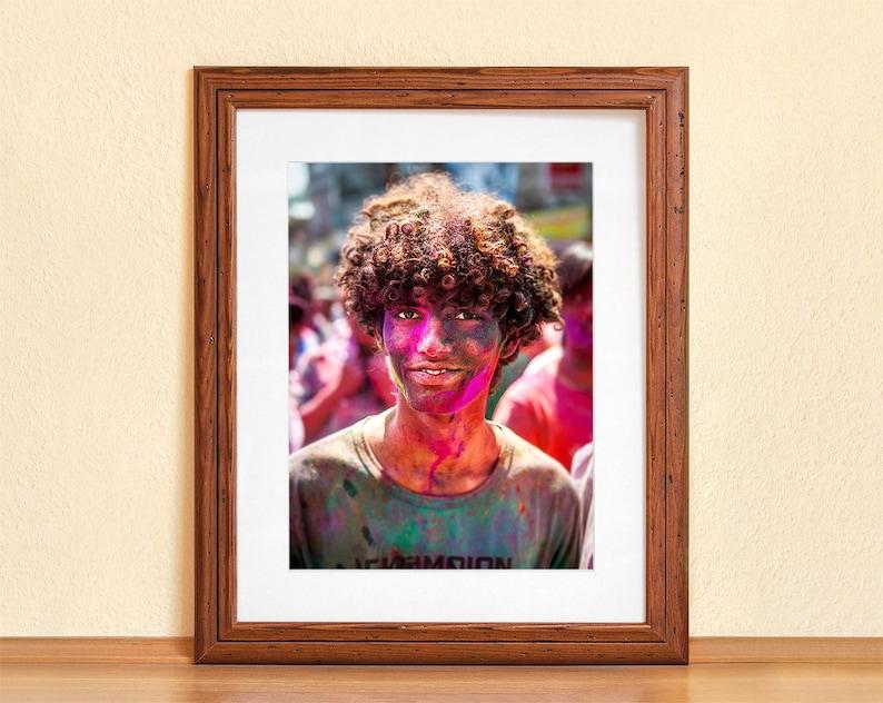 CHAMPION // Photography Fine Art Print Holi Festival Nepal image 0