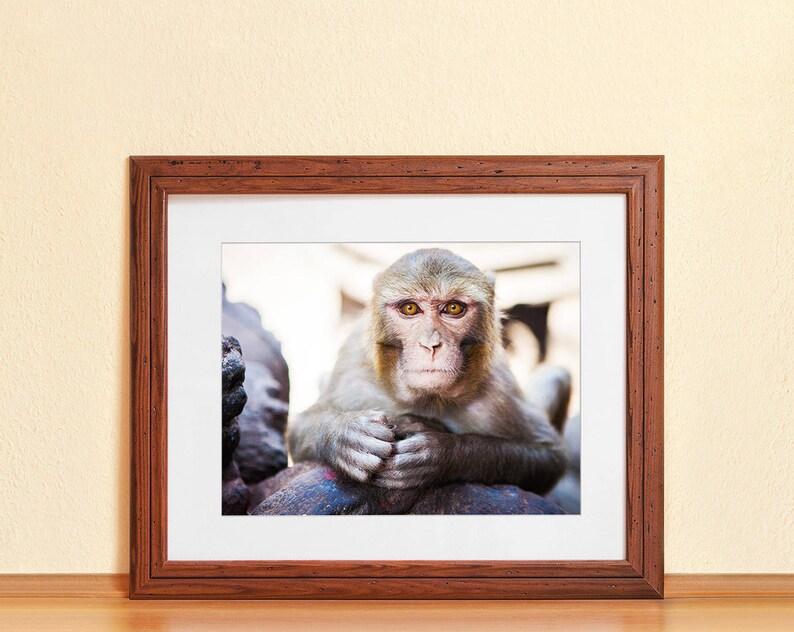 SWAYAMBHU // Photography Fine Art Print Monkey Temple Nepal image 0