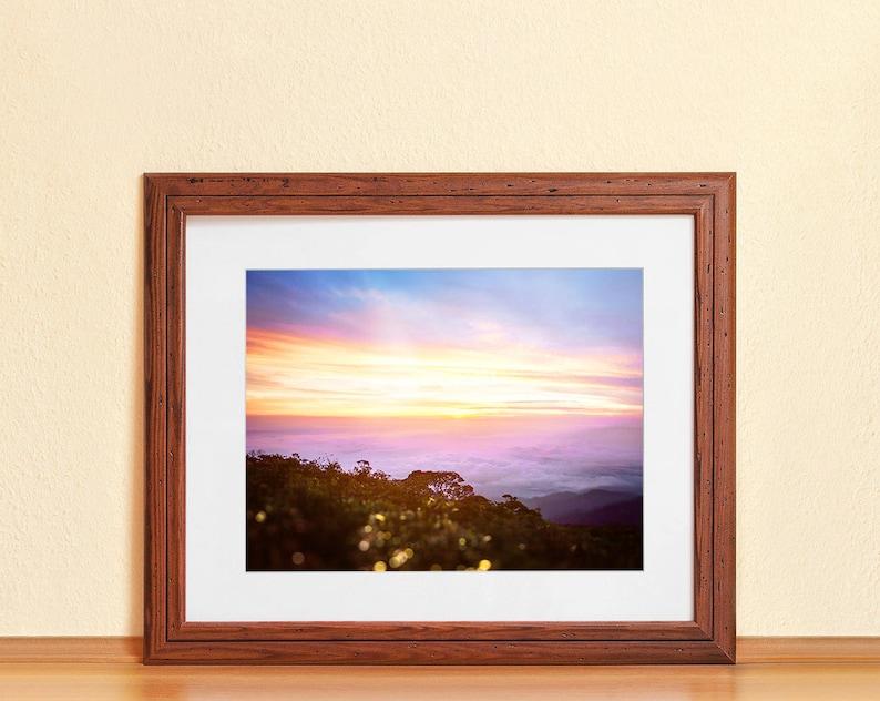 MALAYSIAN SUNSET // Photography Fine Art Print Sunset image 0
