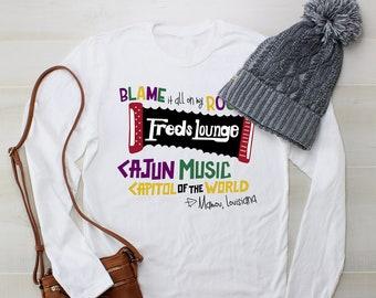 Freds Lounge Tshirt, Mardi Gras T-shirt, Mardi Gras, Mardi Gras Outfit, Mamou T-shirt, Mardi Gras 2020, Mardi Gras Shirt, NOLA, New Orleans