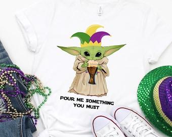 Mardi Gras Shirt, Mardi Gras T-shirt, Mardi Gras Attire, Mardi Gras 2020, Mardi Gras, NOLA, NOLA T-shirt, NOLA shirt, Baby Alien Shirt