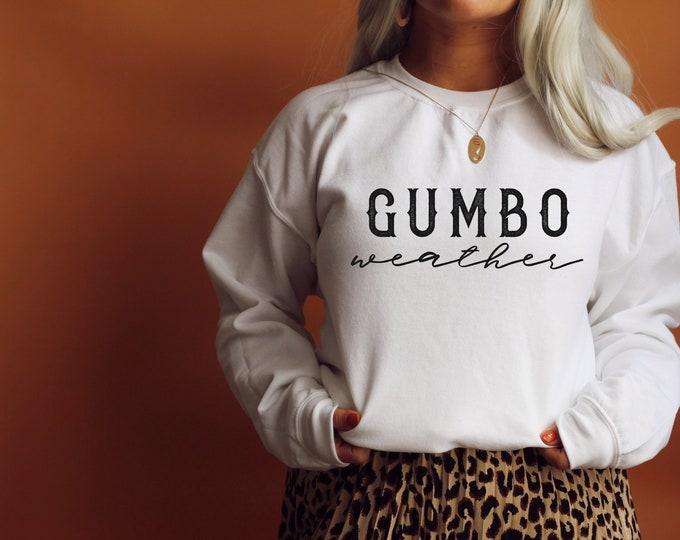 Featured listing image: Gumbo Weather Unisex Sweatshirt