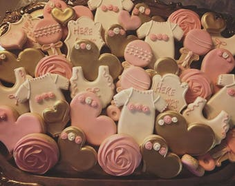 Baby Shower Cookies - ONE Dozen