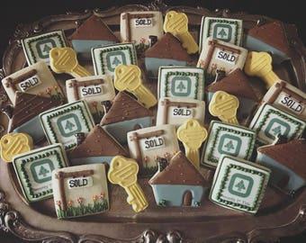House Warming Cookies - ONE Dozen