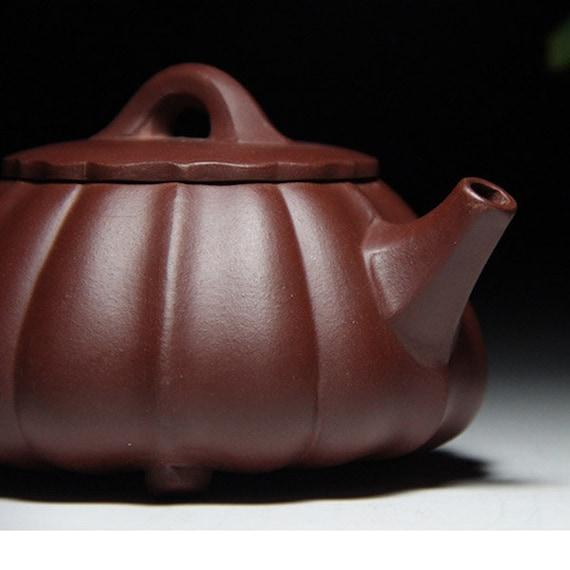 Chinese handmade Yixing xishi tea pot zisha zhu clay tea pot Gongfu teapot 200cc