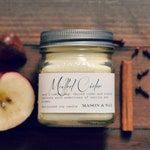 Mulled Cider | Mason Jar Candle | Soy Candle | Cider Candle | Apple Candle | Autumn Candle | Gift Boxed