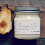 Brandied Pear | Mason Jar Candle | Soy Candle | Pear Candle | Autumn Candle | Gift Boxed