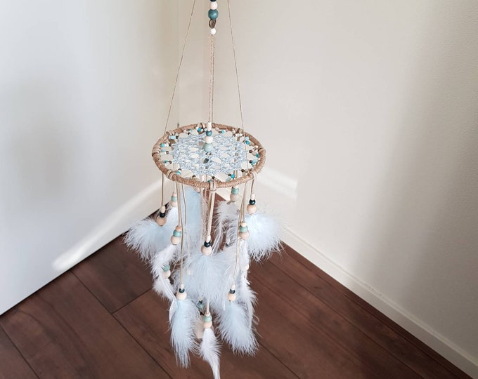 Dreamcatcher Mobile BABY BLUES