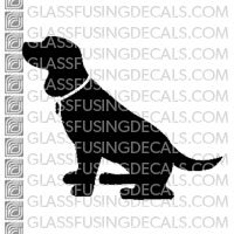 Dogs  Beagle Glass Fusing Decal for Glass Enamelling or image 0
