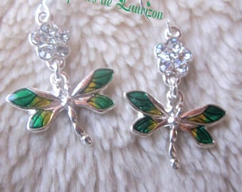 These earrings my little dragonfly