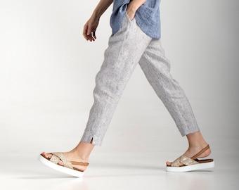 Linen Pants / Linen Trousers / Linen Pants for Women / Loose Pants