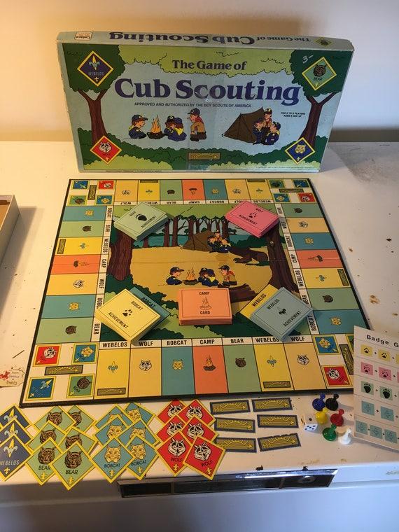 RARE Boy Scouts of America Board Game 1987