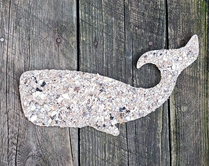 """12"""" Whale Wall Hanging"""