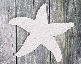 "12"" Sand Covered Starfish Wall Hanging"