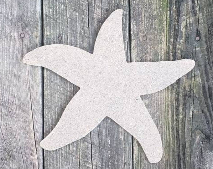 "12"" Sand Covered Starfish Wall Hanging"