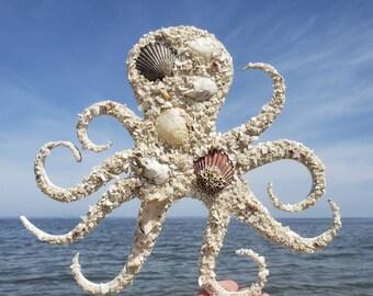 "12"" Octopus Wall Hanging"