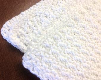 White Handmade Blanket