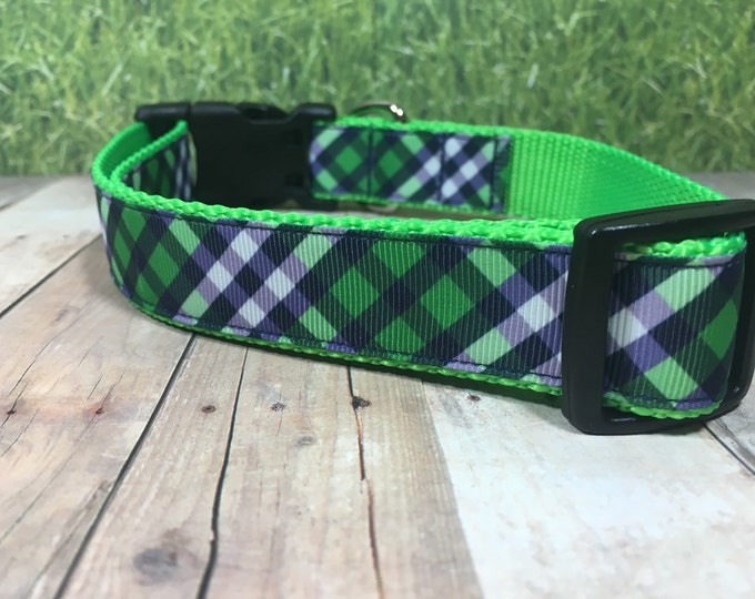 "The Gilligan | Designer 1"" Width Dog Collar 